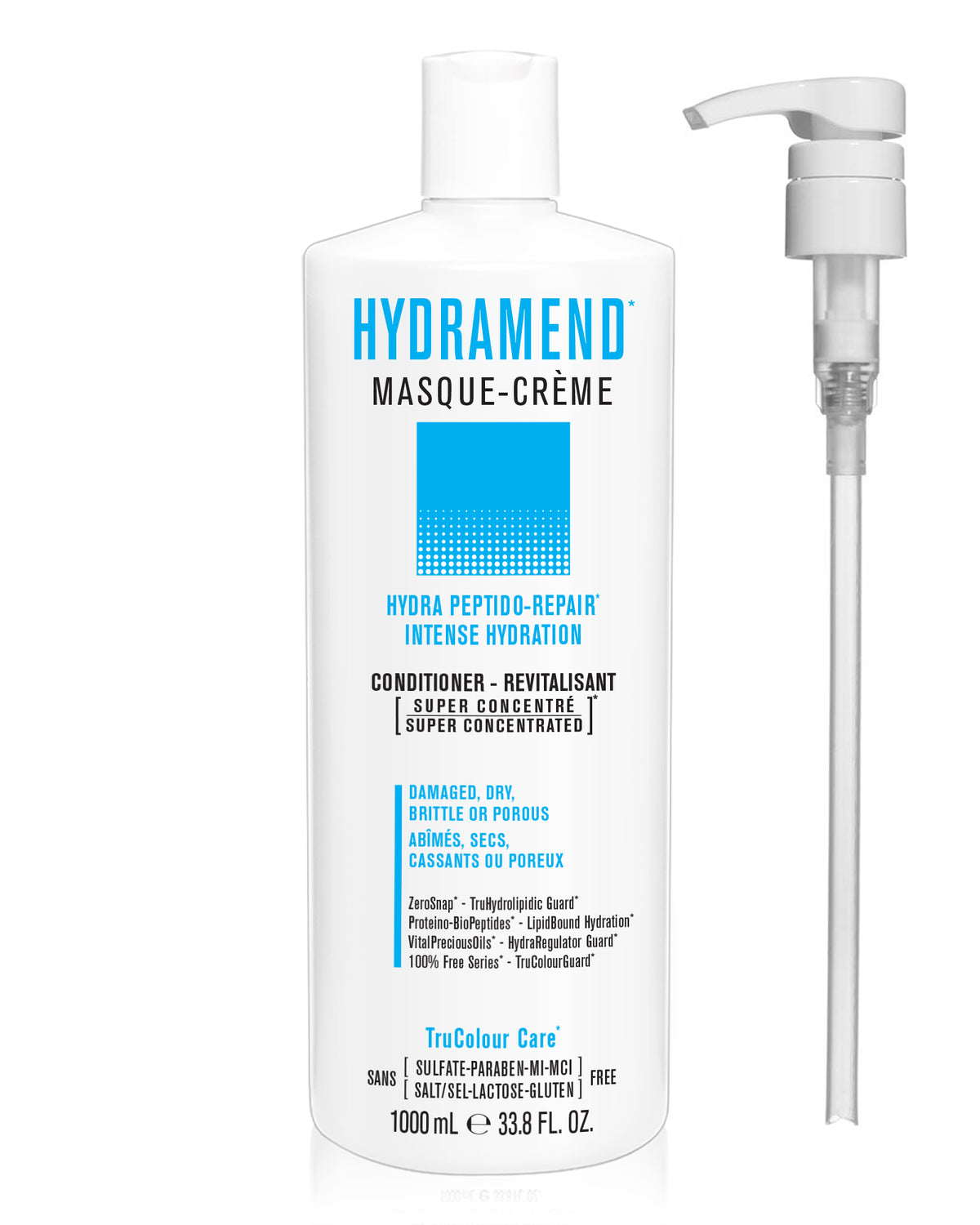 HYDRAMEND Intense Repair & Hydration Masque-Creme (conditioner) - SNOBGIRLS.com