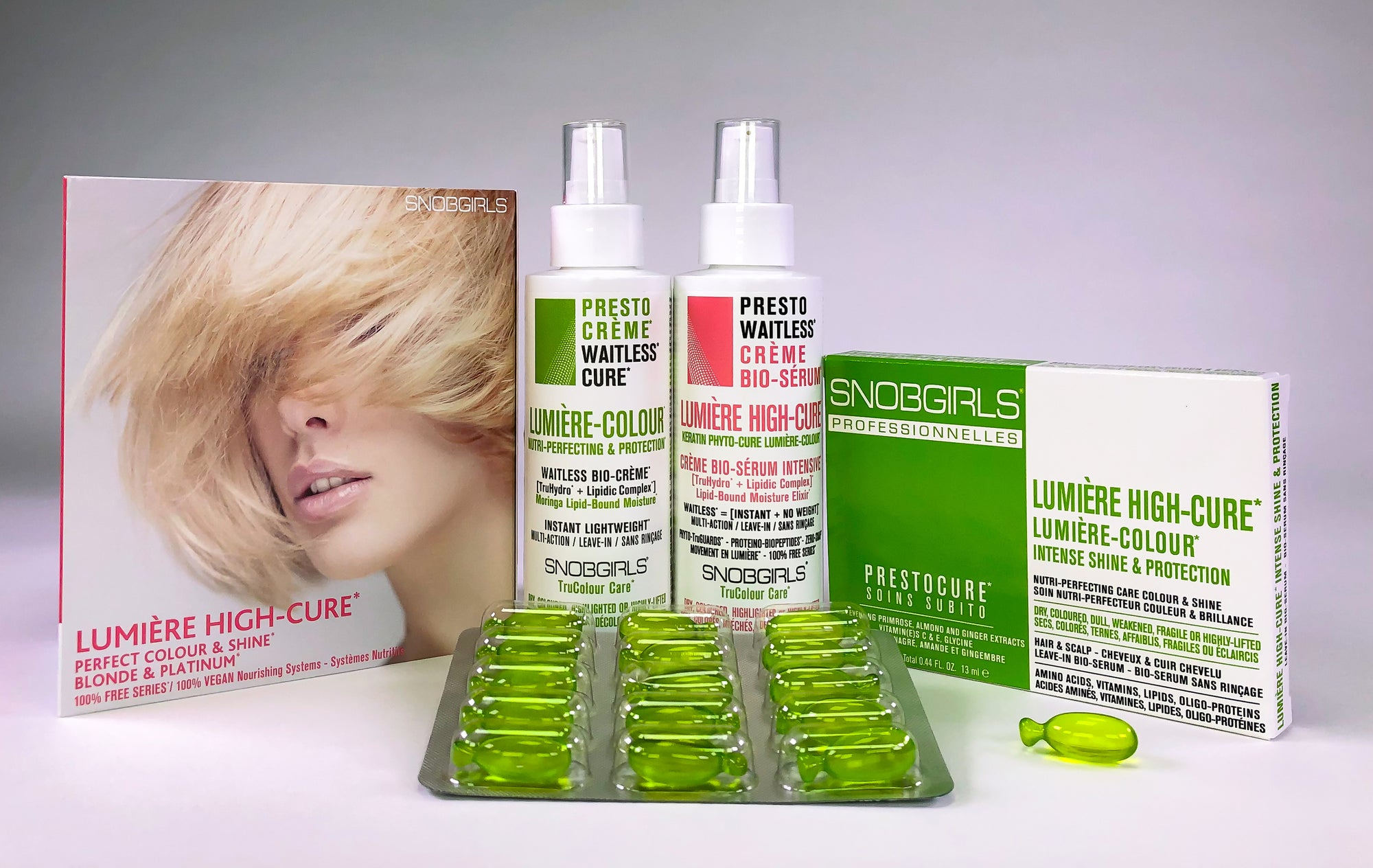 LUNIERE HIGH-CURE - INTENSIVE LEAVE-IN TREATMENTS SET - SNOBGIRLS.com