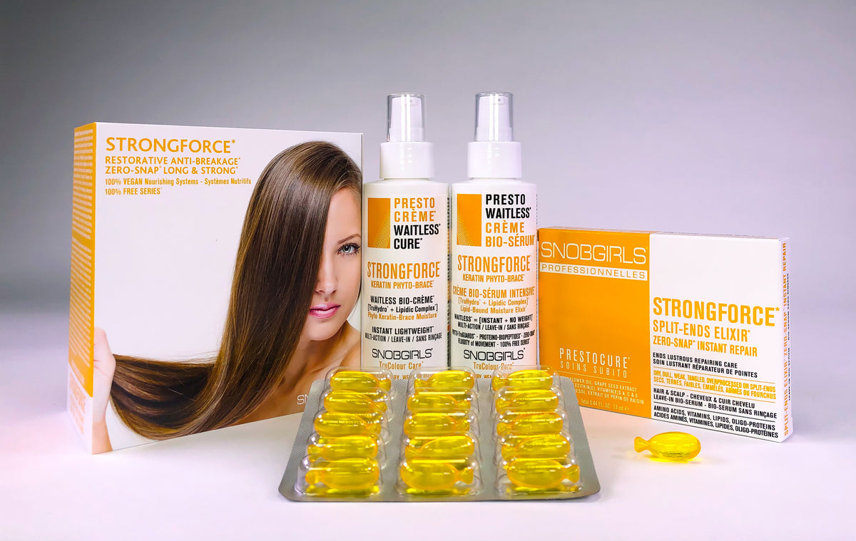 STRONGFORCE - INTENSIVE LEAVE-IN TREATMENTS SET - SNOBGIRLS.com