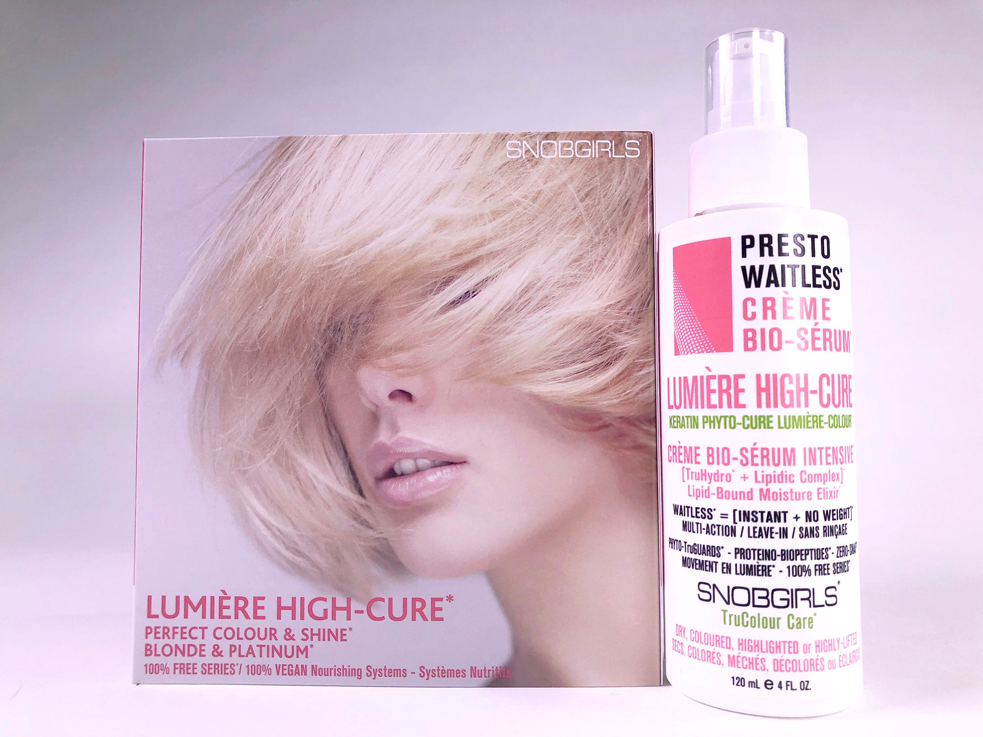 LUMIERE HIGH-CURE Perfect Colour & Shine Creme Bio-Serum - SNOBGIRLS.com