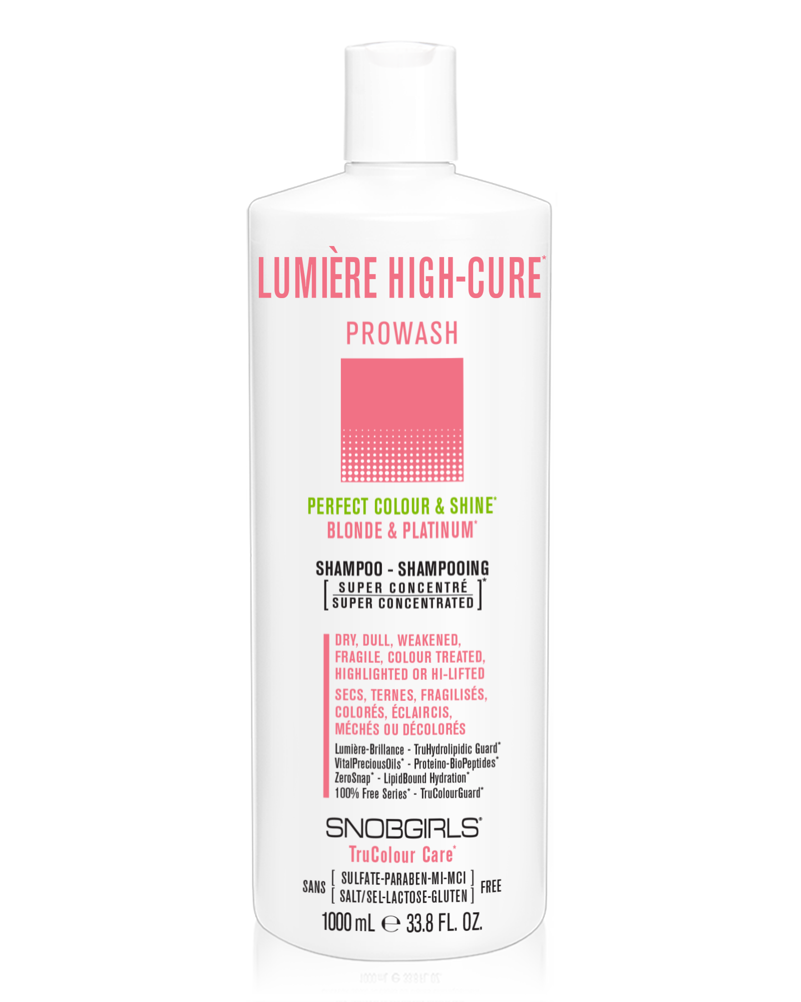 LUMIERE HIGH-CURE Perfect Colour & Shine Prowash (shampoo) - SNOBGIRLS.com