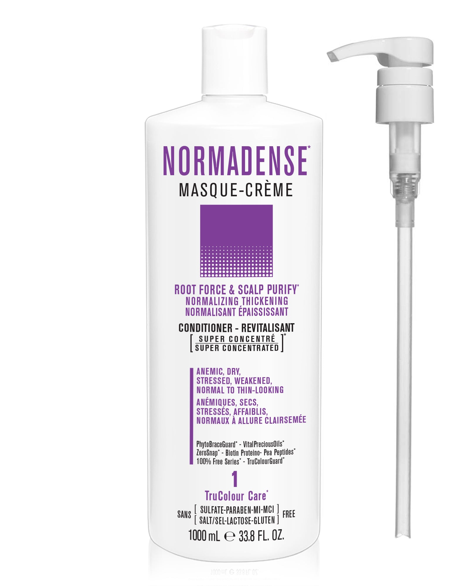 NORMADENSE 1 Scalp Purify Normalizing Thickening Masque-Creme (conditioner) - SNOBGIRLS.com