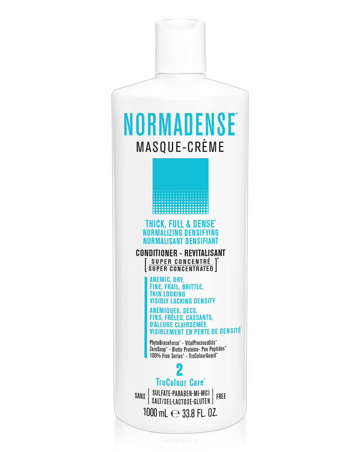 NORMADENSE 2 Thick, Full & Dense Masque-Creme (conditioner) - SNOBGIRLS.com