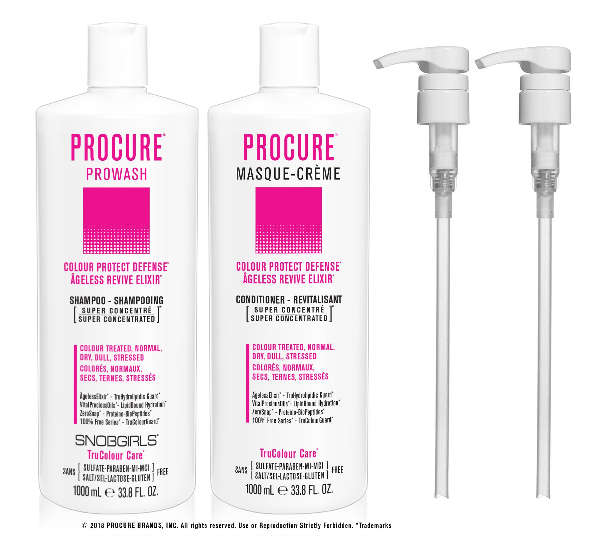 DUO PROCURE - Prowash + Masque-Creme 1000 mL - SNOBGIRLS.com