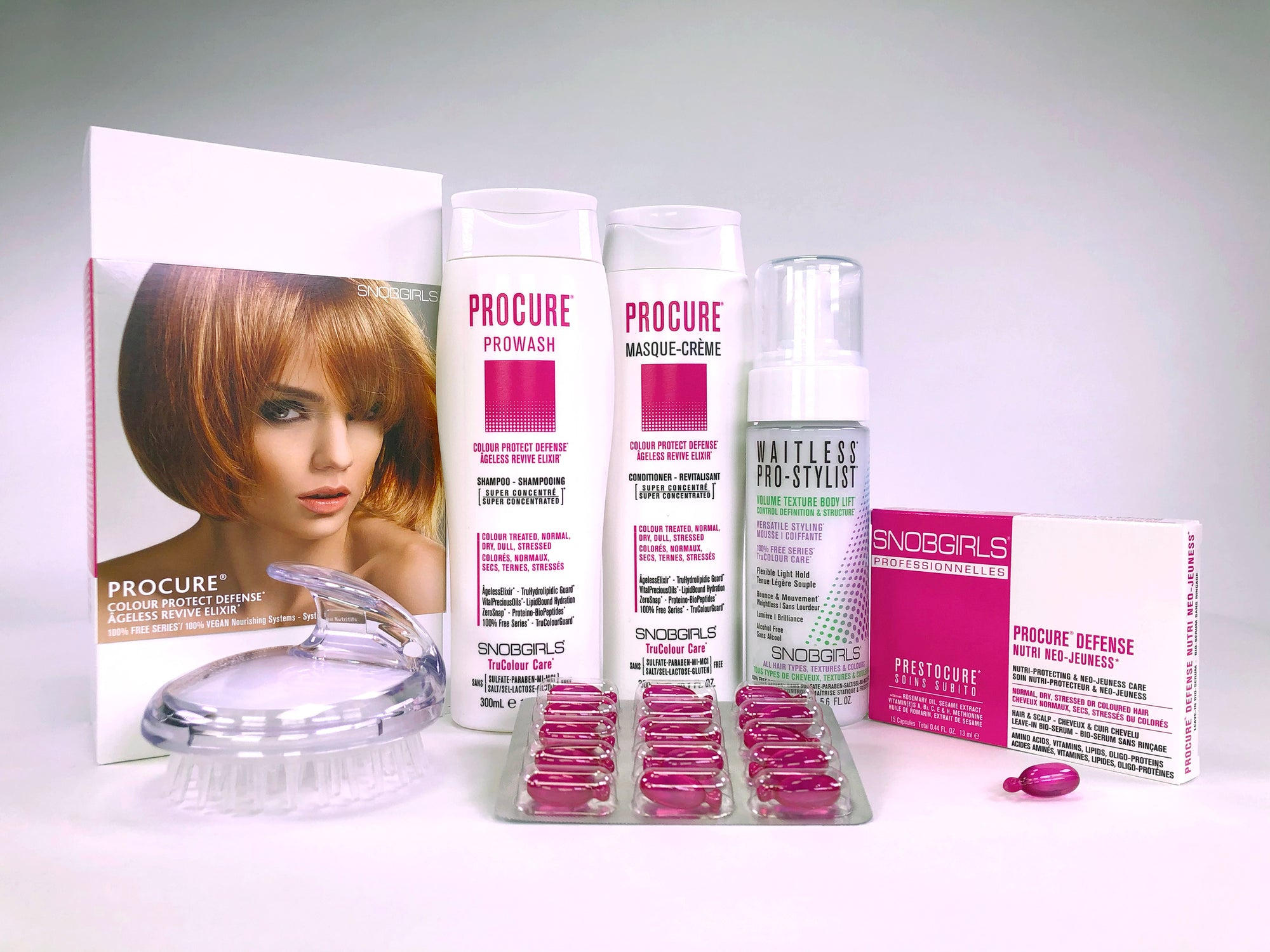 PROCURE BOX COLOUR PROTECT DEFENSE Bundle - SNOBGIRLS.com