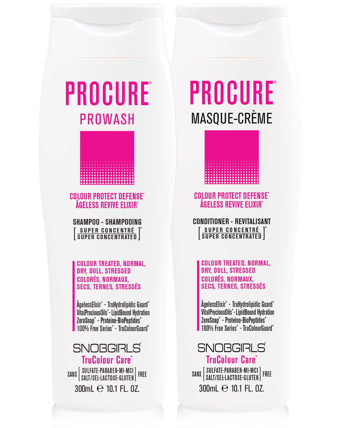 DUO PROCURE Prowash + Masque-Creme 300 mL - SNOBGIRLS.com