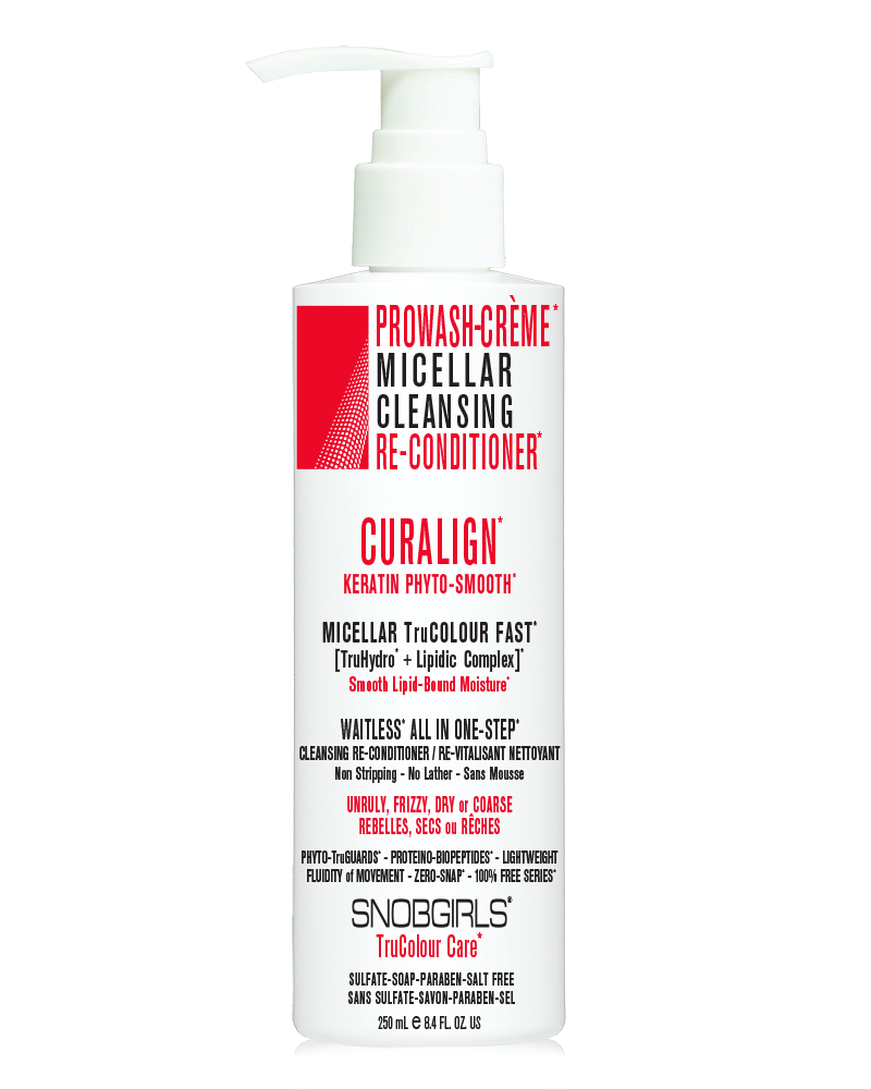 CURALIGN PROWASH-CREME MICELLAR CLEANSING RE-CONDITIONER - SNOBGIRLS.com