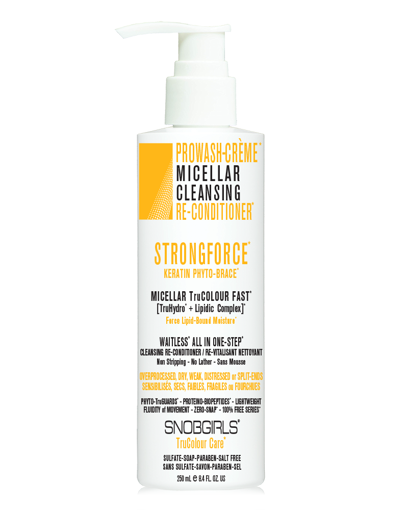 STRONGFORCE PROWASH-CREME MICELLAR CLEANSING RE-CONDITIONER - SNOBGIRLS.com