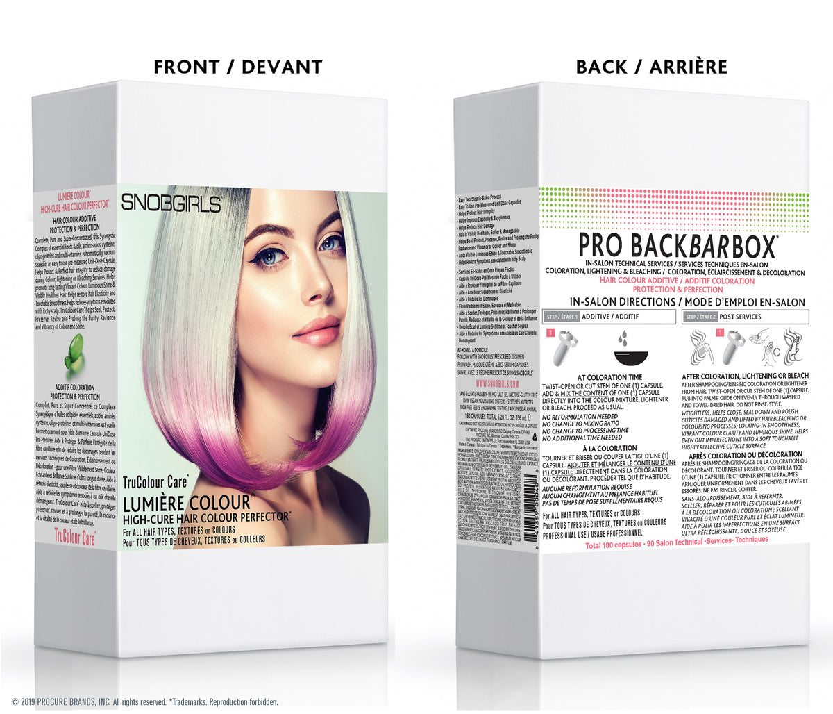 PRO BACKBARBOX HAIR COLOUR ADDITIVE PROTECTION & PERFECTION - SNOBGIRLS.com
