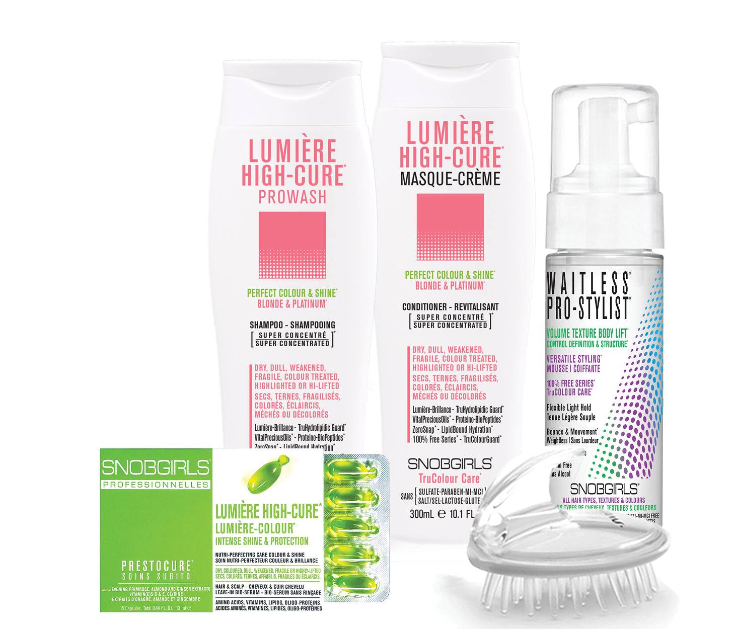 LUMIERE HIGH-CURE BOX PERFECT COLOUR & SHINE Bundle