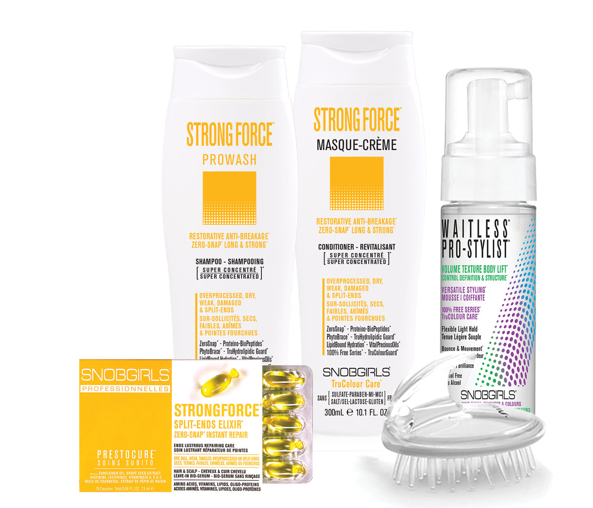 STRONGFORCE TRIO RESTORATIVE ANTI-BREAKAGE Bundle - SNOBGIRLS.com