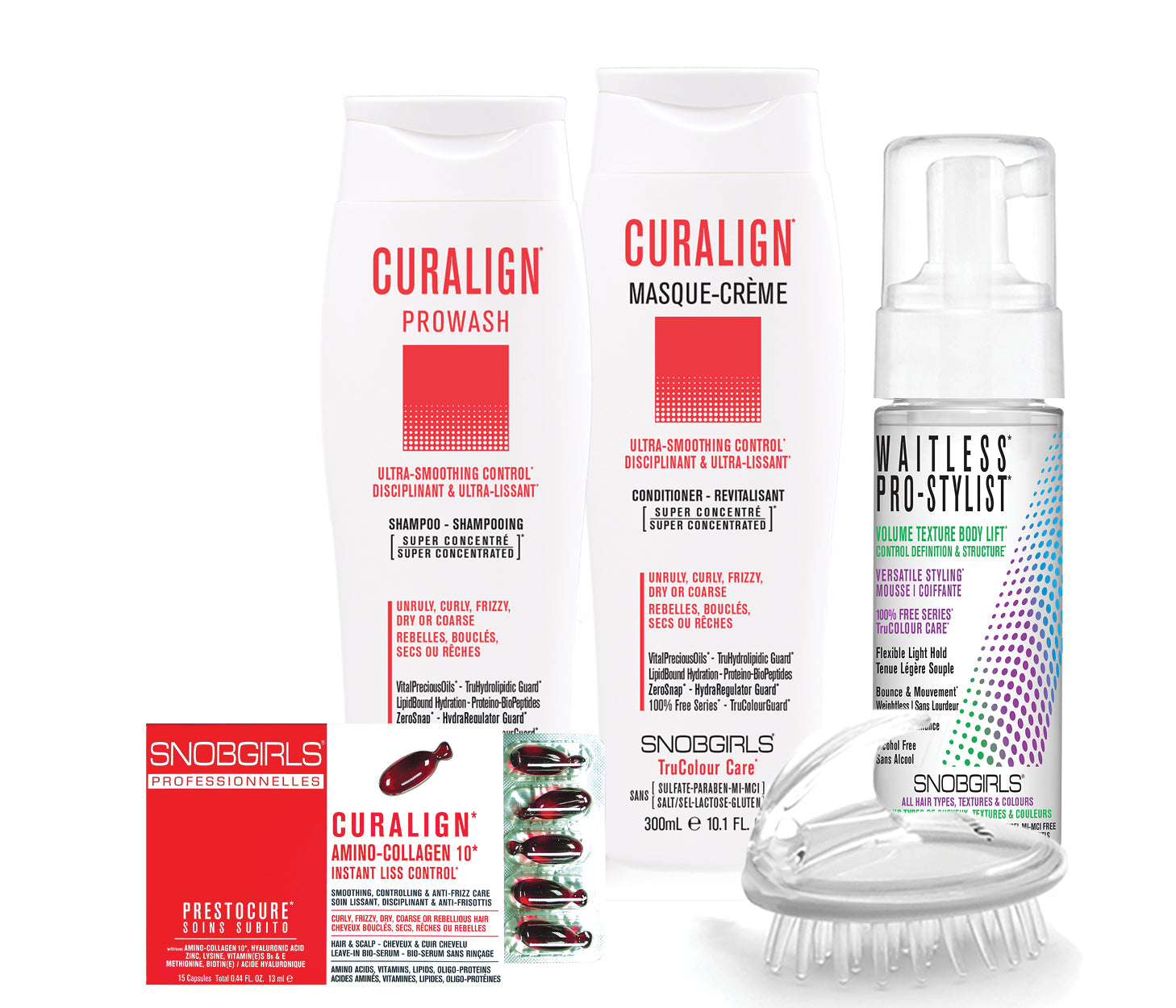 CURALIGN BOX ULTRA-SMOOTHING CONTROL Bundle