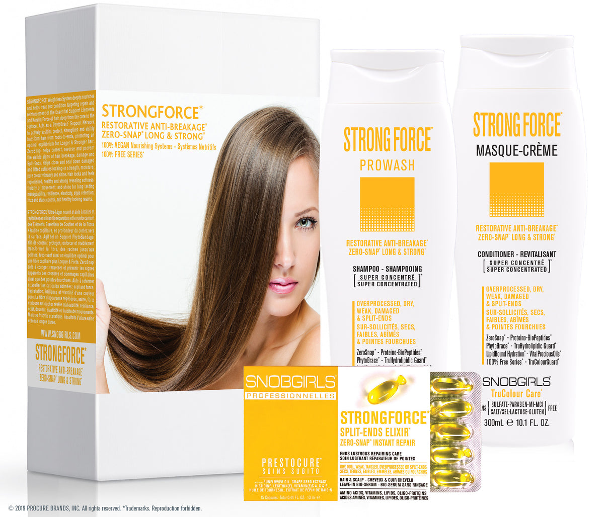 TRIO BOX STRONGFORCE RESTORATIVE ANTI-BREAKAGE