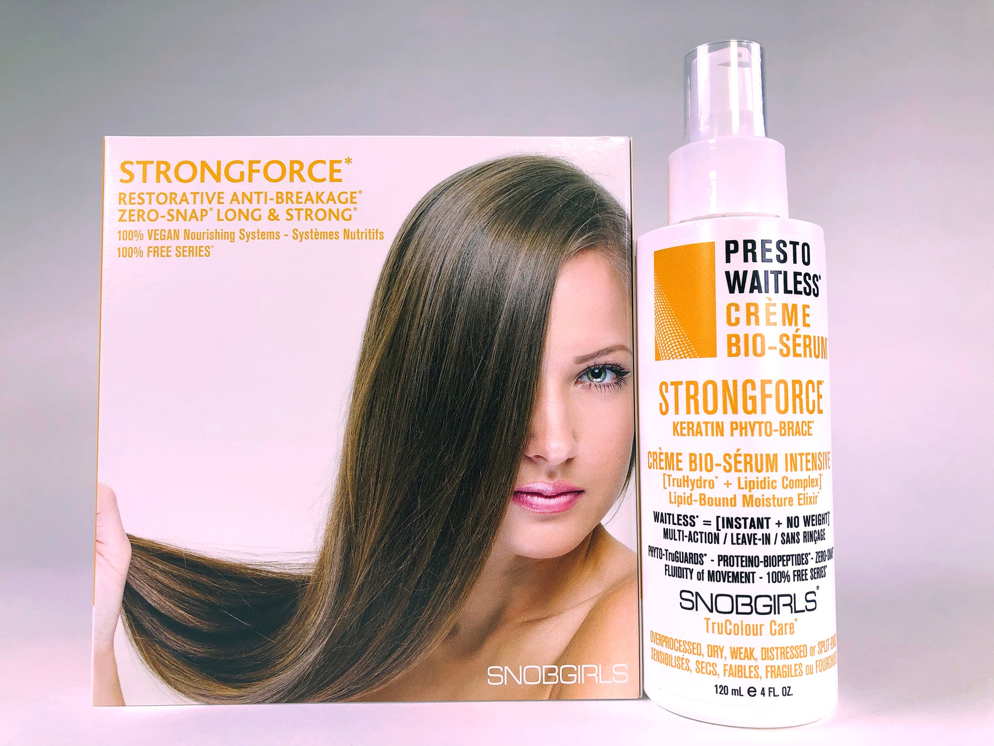 STRONGFORCE Restorative Anti-Breakage Creme Bio-serum - SNOBGIRLS.com