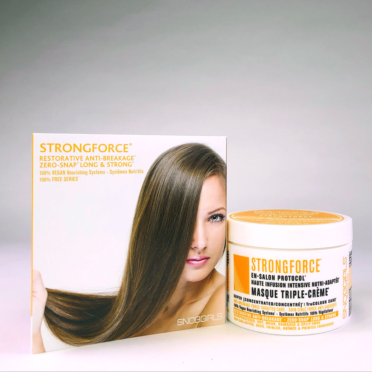 STRONGFORCE Restorative Anti-Breakage Triple-Creme Masque - SNOBGIRLS.com