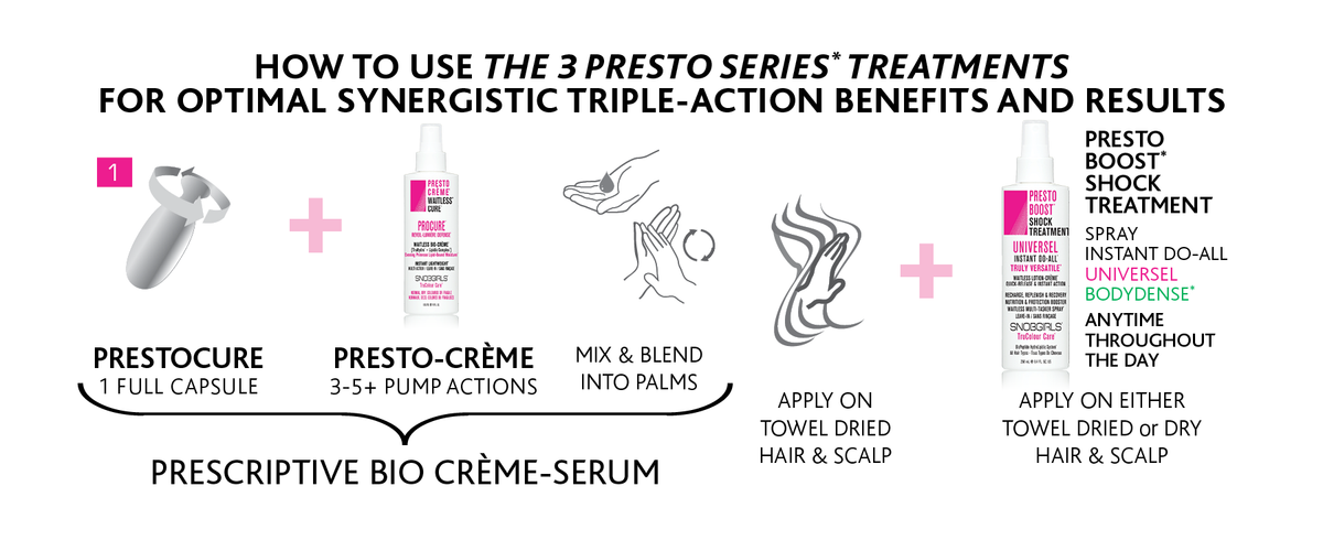 VICE-VERSA CURLS Duo-Style: Smoothing or Curl Defining Presto-Creme - SNOBGIRLS.com