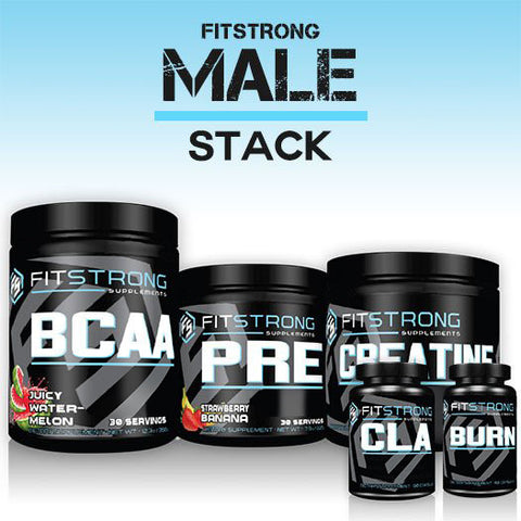 The FitStrong Male Stack