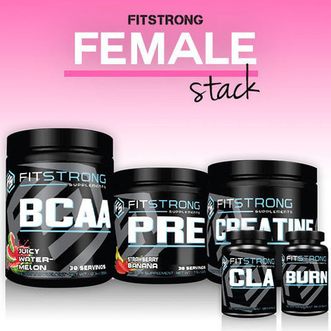 The FitStrong Female Stack