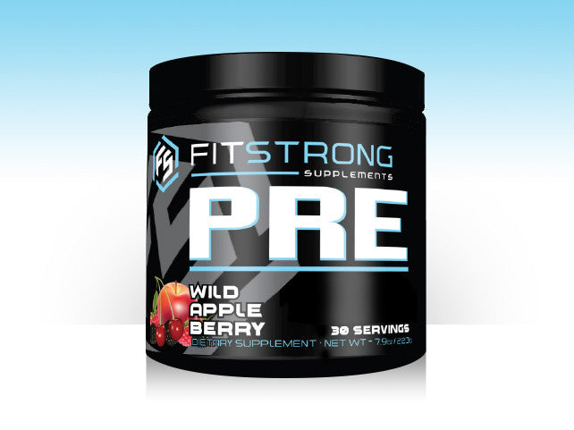 FitStrong Pre-Workout Supplement