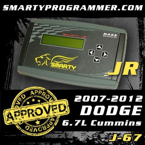 Smarty JR J-67 Tuner | Dodge 2007 - 2012 6.7L Cummins Tuner