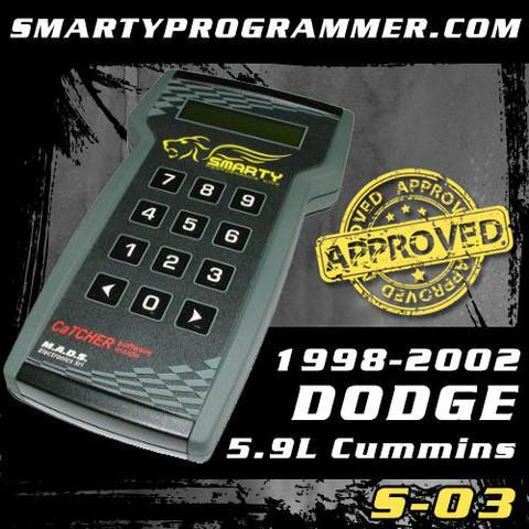Smarty S-03 Programmer [Fits 1998.5-2002 Dodge 5.9L Cummins]