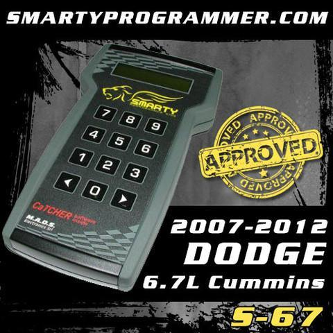 Smarty S-67 Tuner for 2007-2012 Dodge 6.7L Cummins