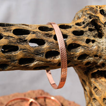 Load image into Gallery viewer, Copper Bangle Bracelet (CBB 1007)