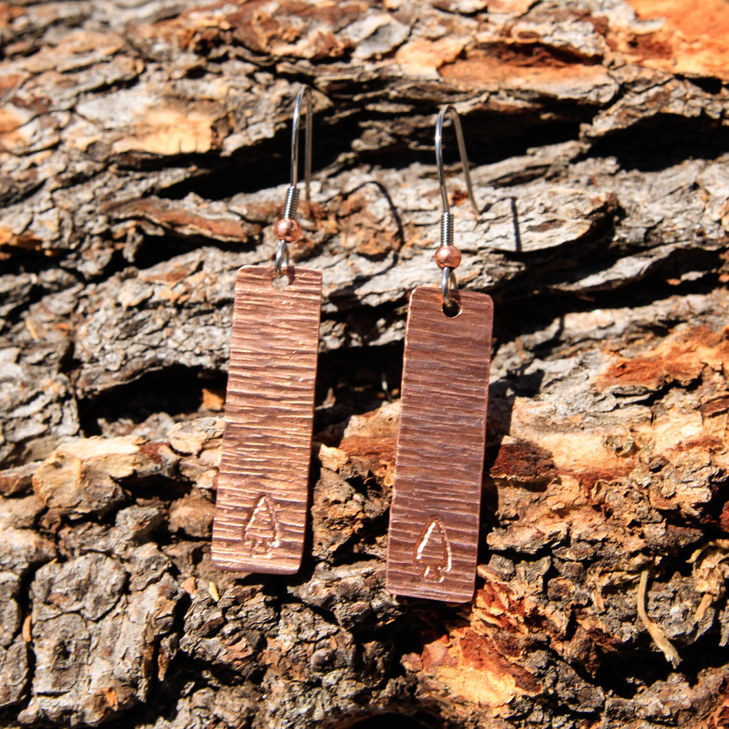Copper Earrings (CE 1014)