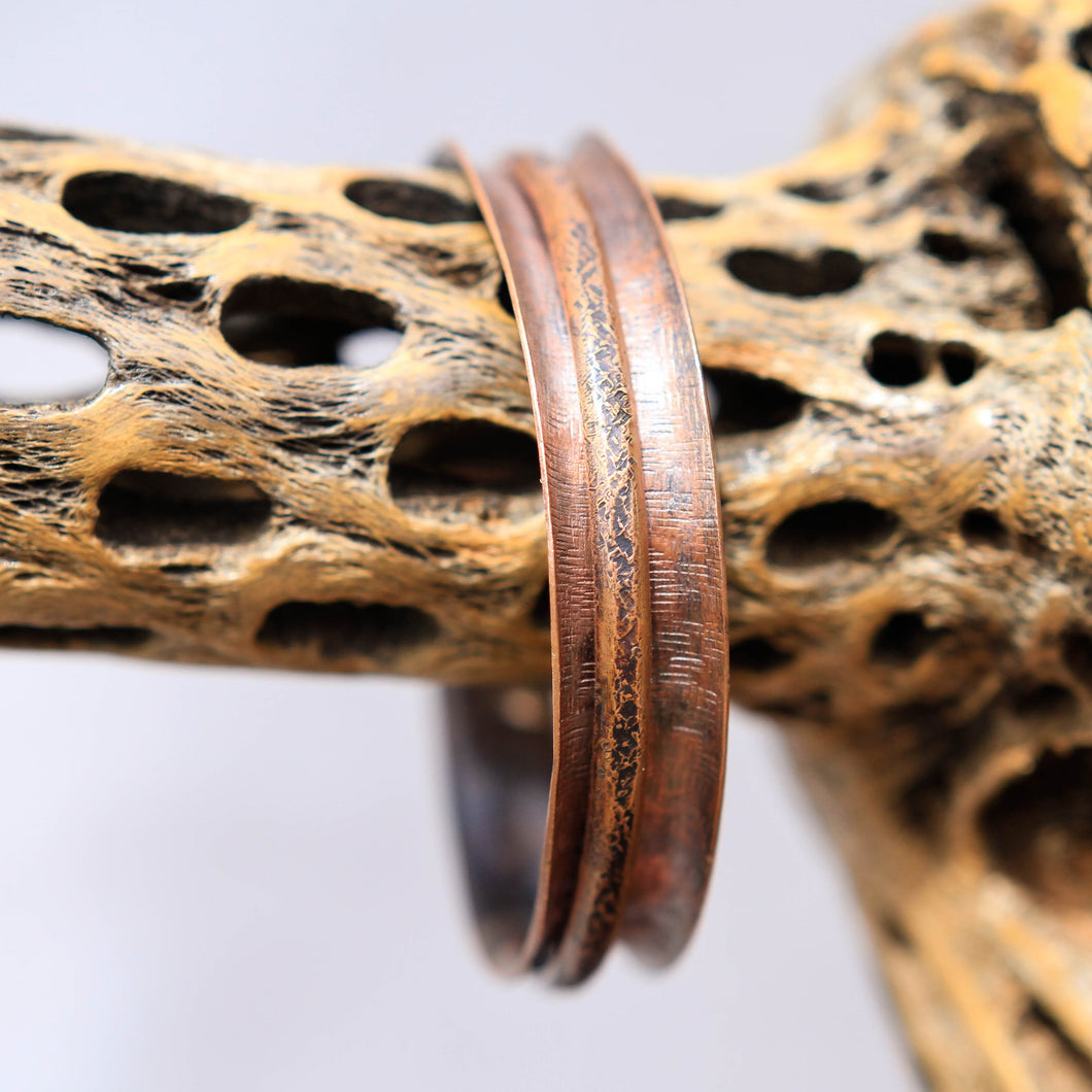 Copper Spinner Bangle Bracelet (SB 1021)