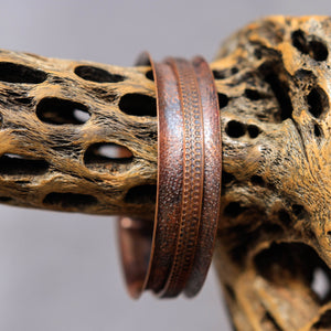 Copper Spinner Bangle Bracelet (SB 1022)