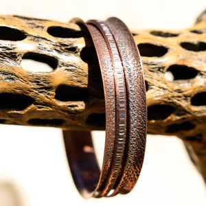 Copper Spinner Bangle Bracelet (SB 1028)