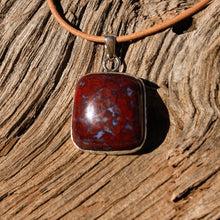 Load image into Gallery viewer, Agate (Plomosa Mtns) Cabochon and Sterling Silver Pendant (SSP 1057)