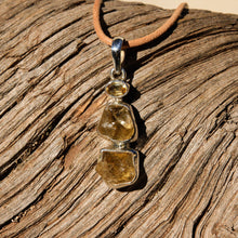 Load image into Gallery viewer, Citrine and Sterling Silver Pendant (SSP 1110)