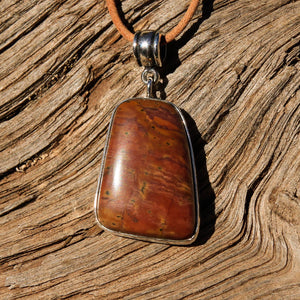 Sedona Sunrise (tm) and Sterling Silver Pendant (SSP 1134)