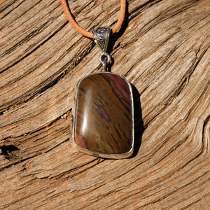 Sedona Sunrise (tm) and Sterling Silver Pendant (SSP 1135)