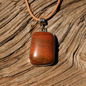 Sedona Sunrise (tm) and Sterling Silver Pendant (SSP 1142)