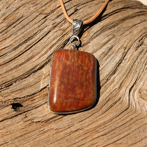 Sedona Sunrise (tm) and Sterling Silver Pendant (SSP 1144)