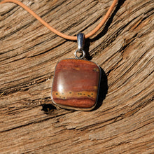 Load image into Gallery viewer, Sedona Sunrise (tm) and Sterling Silver Pendant (SSP 1147)