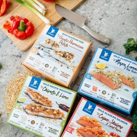 Wildly Delicious Seafood Kits now at Whole Foods!