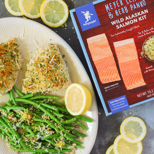 Lemony Green Beans with Toasted Sunflower Seeds and Quinoa