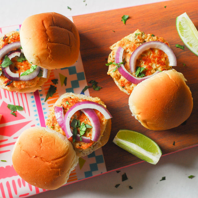 Thai Albacore Tuna Sliders