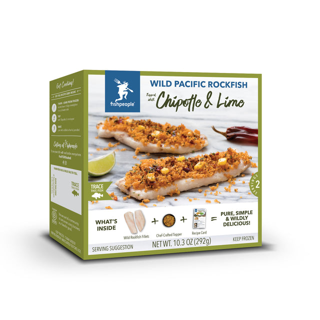 Chipotle & Lime Wild Pacific Rockfish Kit
