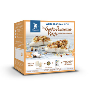 Garlic Parmesan Potato Wild Alaskan Cod Kit