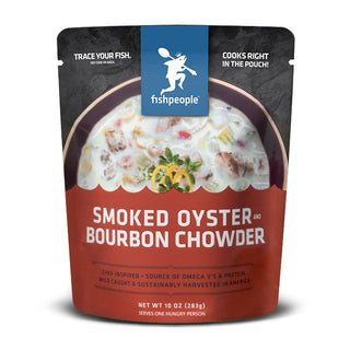 Smoked Oyster and Bourbon Chowder