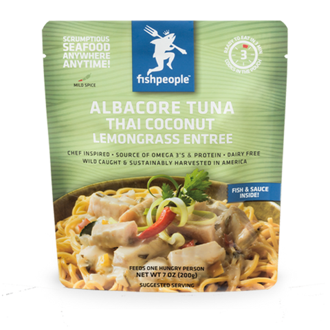 Albacore Tuna in Thai Coconut Lemongrass
