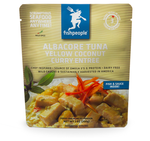 Albacore Tuna in Yellow Coconut Curry