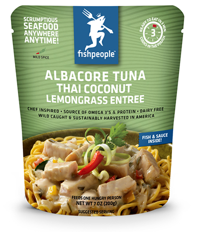 Fishpeople - Albacore Tuna Thai Coconut