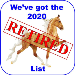 Breyer 2020 Retired List