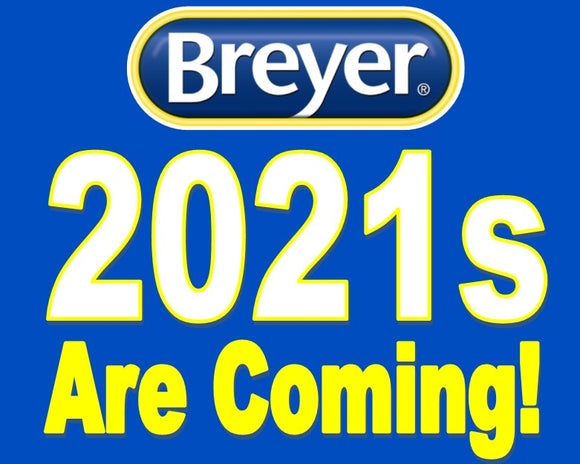Breyer New Releases Will Be Announced Soon!