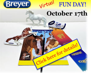 Breyer Announces Virtual Fun Day October 17th!